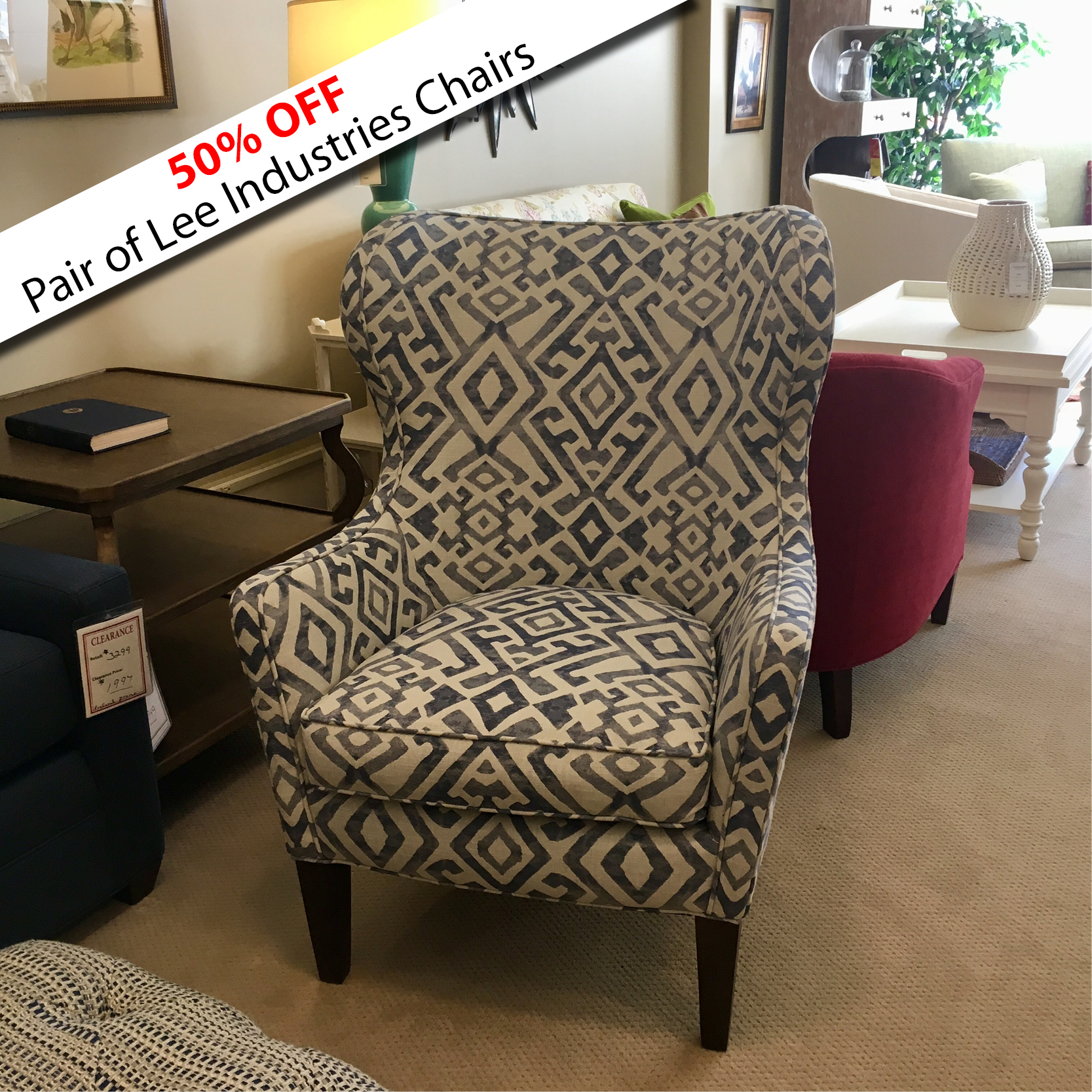 Lee Chairs on Sale