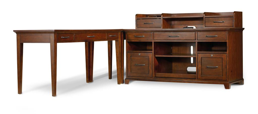 Hooker Leg Desk and Corner Unit 263109