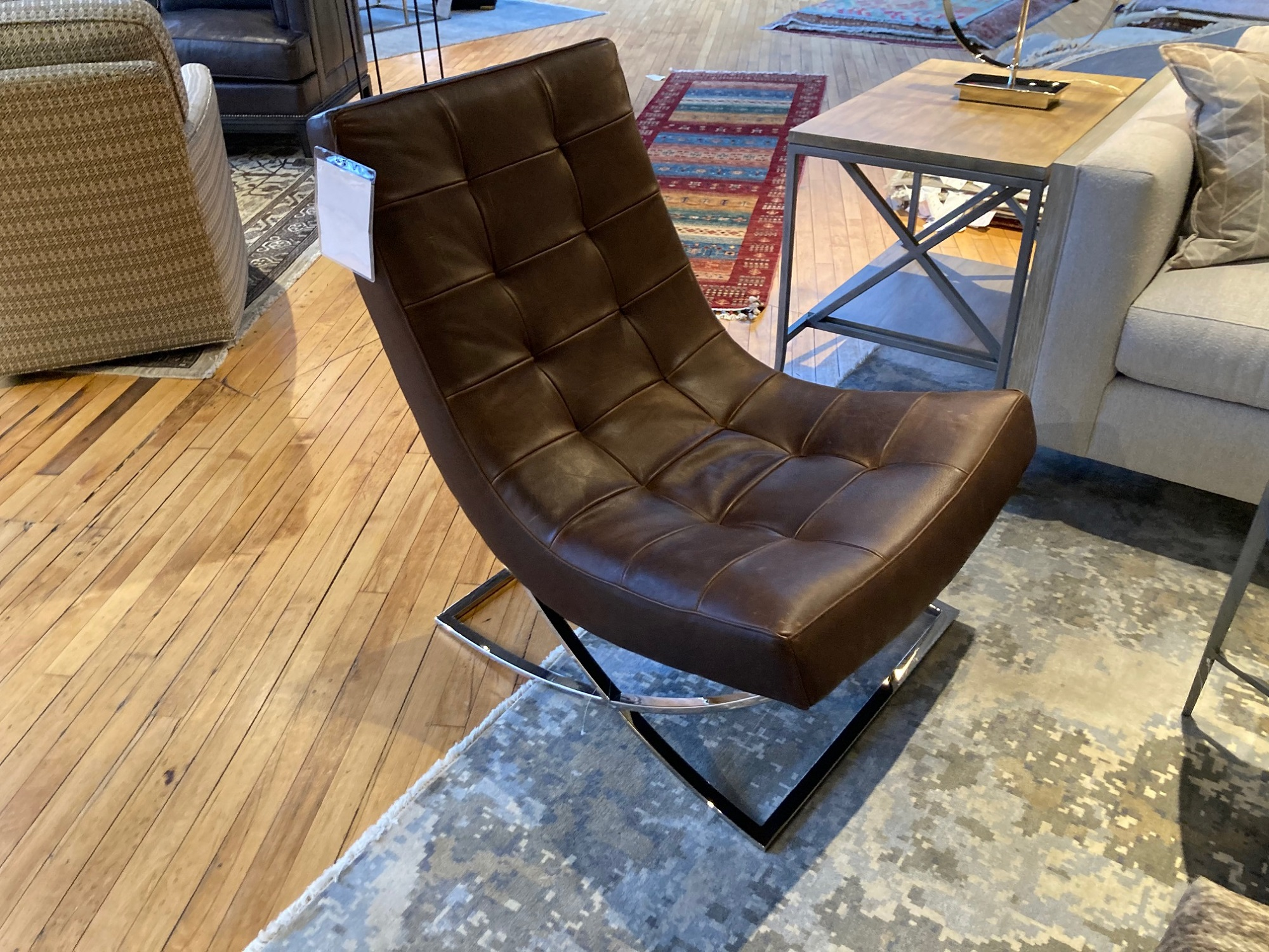 Lee Industries Leather Chair