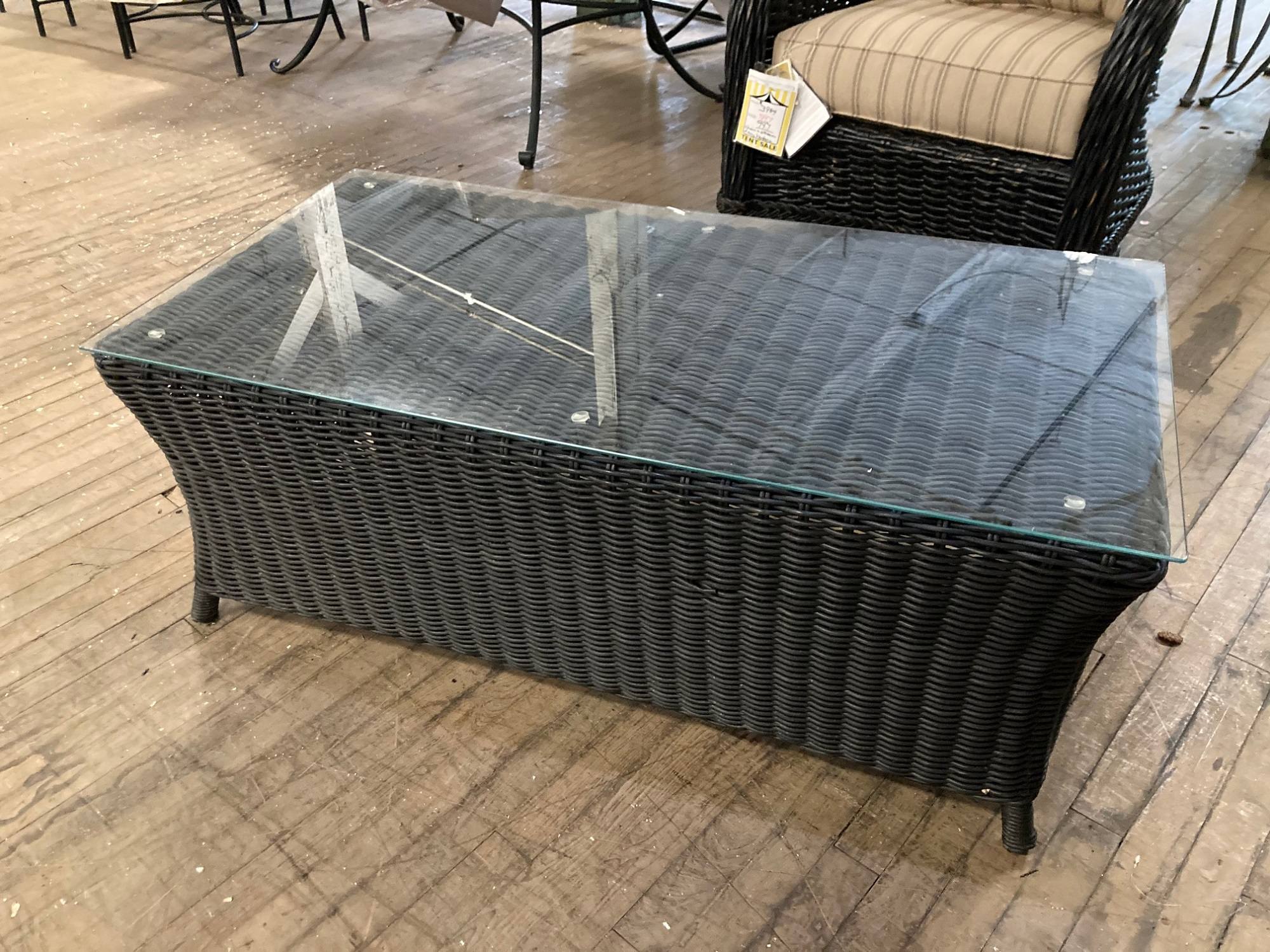 Lloyd Flanders Coffee Table