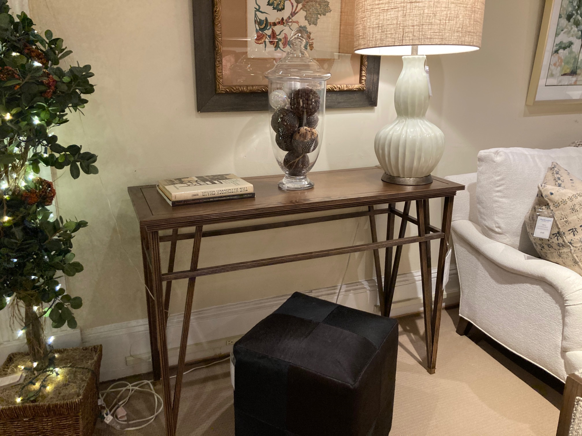 Hickory Chair Console Table