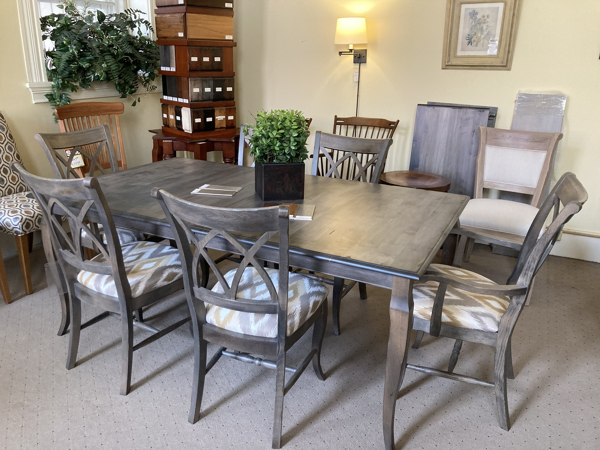 Saloom Table and Chairs